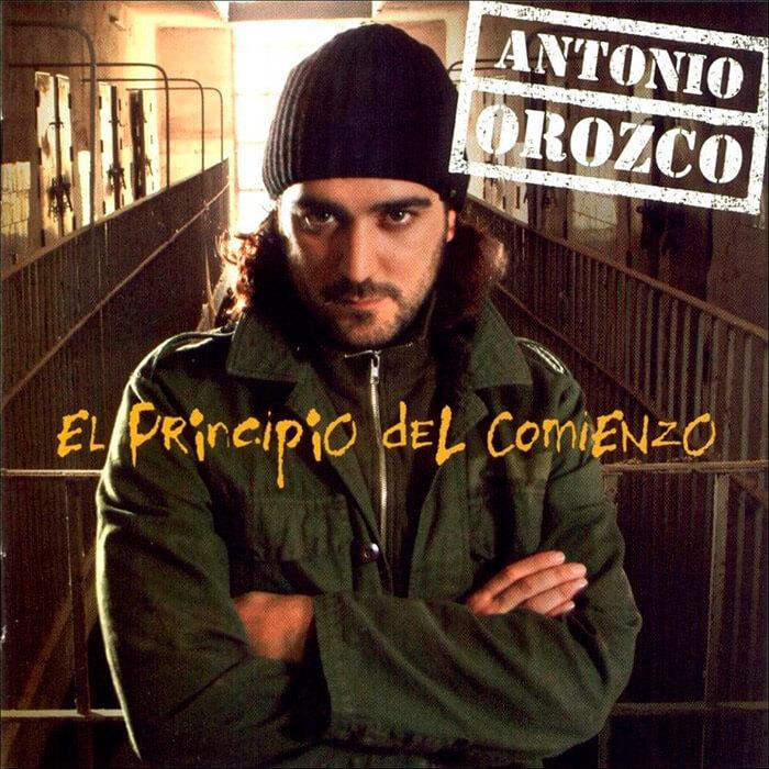 """Antonio Orozco """"El Principio Del Comienzo"""""""