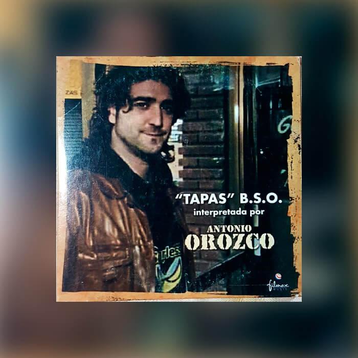 """Antonio Orozco """"Tapas B.S.O."""""""
